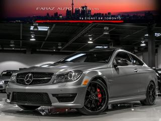 Used 2014 Mercedes-Benz C63 AMG AMG|EDITION 507|DISTRONIC|FULLY LOADED for sale in North York, ON