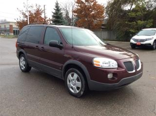 Used 2009 Pontiac Montana Sv6 w/1SA for sale in Milton, ON