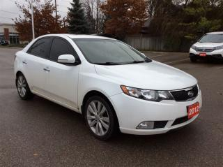 Used 2012 Kia Forte SX..Leather..Sunroof.. for sale in Milton, ON