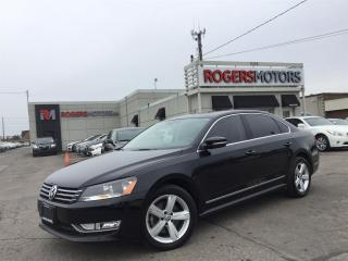 Used 2015 Volkswagen Passat TDI - NAVI - LEATHER - REVERSE CAM for sale in Oakville, ON