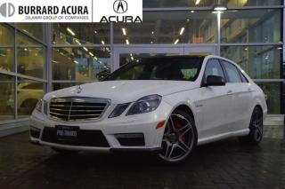 Used 2012 Mercedes-Benz E63 AMG Sedan AMG/Navi/Bluetooth for sale in Vancouver, BC