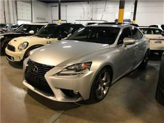 Used 2014 Lexus IS 350 AWD NAVIGATION MOONROOF for sale in Mississauga, ON