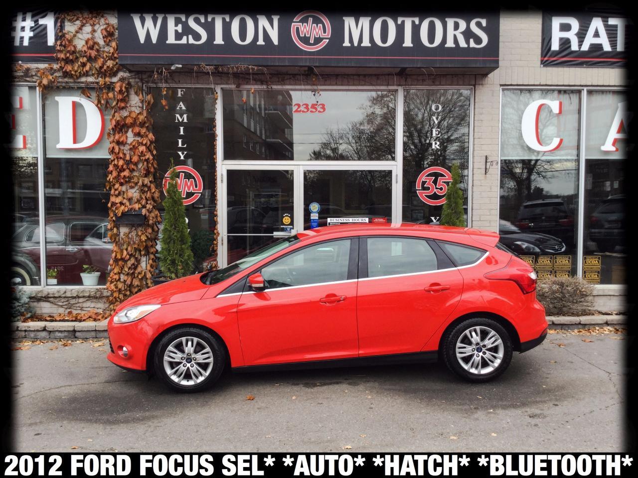 2012 Ford Focus SEL*AUTO*HATCH*BLUETOOTH*