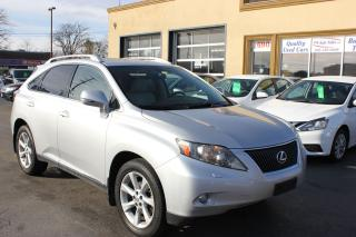 Used 2010 Lexus RX 350 Touring Navi Bluetooth for sale in Brampton, ON