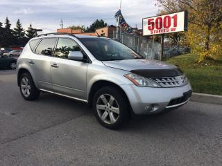Used 2006 Nissan Murano SHIPPER'S SPECIAL,SL,EXTRA CLEAN,$3400, for sale in North York, ON