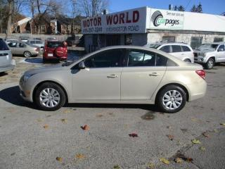 Used 2011 Chevrolet Cruze LT Turbo W/ISA for sale in Scarborough, ON