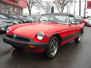 Used 1979 MG MGB Roadster for sale in London, ON