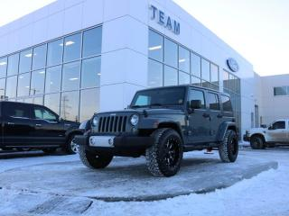 Used 2015 Jeep Wrangler Unlimited Sahara for sale in Edmonton, AB