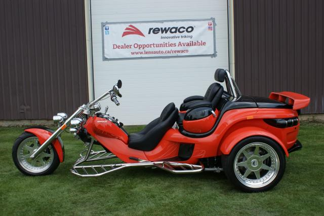 2018 Rewaco RF2 LT-2 Tour Back Turbo Automatic Trike