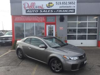 Used 2010 Kia Forte EX w/ SUNROOF|BLUETOOTH|REMOTE START for sale in London, ON