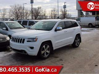Used 2014 Jeep Grand Cherokee Overland, PANO ROOF, NAV for sale in Edmonton, AB