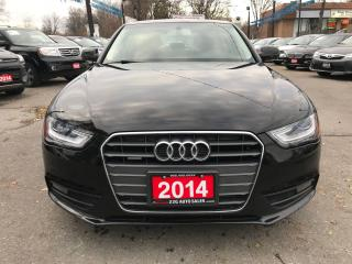 Used 2014 Audi A4 Komfort/NO ACCIDENTS/LEATHER/SUNROOF for sale in Brampton, ON