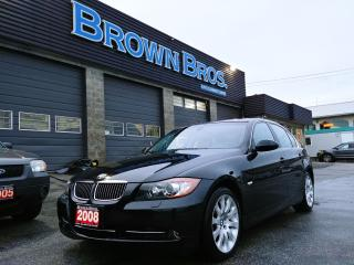 Used 2008 BMW 3 Series 335xi, Local, AWD, Lthr, Financing for sale in Surrey, BC