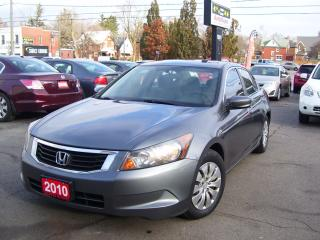 Used 2010 Honda Accord LX for sale in Kitchener, ON