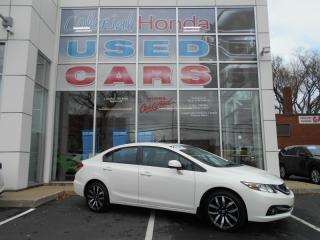 Used 2013 Honda Civic Touring LEATHER HEATED FRONT BUCKET SEATS for sale in Halifax, NS