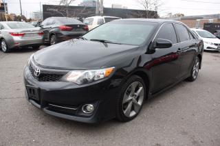Used 2014 Toyota Camry SE LEATHER SUNROOF NAVIGATION for sale in North York, ON