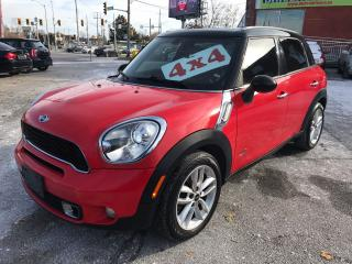 Used 2011 MINI Cooper Countryman S/4WD/NO ACCIDENT/SAFETY/WARRANTY INCLUDED for sale in Cambridge, ON