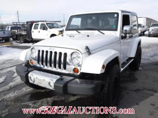 Used 2013 Jeep WRANGLER SAHARA 2D UTILITY 4WD 3.6L for sale in Calgary, AB