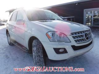 Used 2010 Mercedes-Benz M-CLASS ML350 4D UTILITY CDI for sale in Calgary, AB