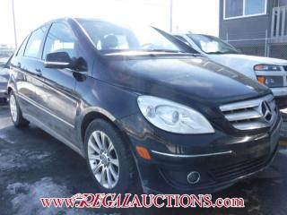 Used 2008 Mercedes-Benz B-CLASS B200T 4D HATCHBACK for sale in Calgary, AB