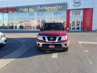 Used 2012 Nissan Frontier SV 2WD 1 OWNER LOCAL TRADE for sale in Belleville, ON