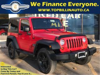Used 2013 Jeep Wrangler Sport 6 Speed, HARD TOP Certified for sale in Concord, ON