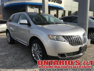 Used 2011 Lincoln MKX AWD NAV-REAR CAMERA/CLEAN CAR PROOF/TORONTO for sale in North York, ON