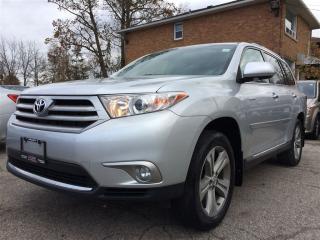 Used 2013 Toyota Highlander V6 Limited**NAV**ROOF**BACK-UP CAM** for sale in Mississauga, ON