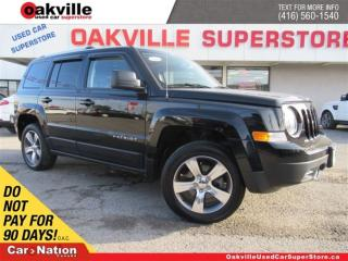 Used 2016 Jeep Patriot Sport/North | AWD | LEATHER | SUNROOF | NAVI | for sale in Oakville, ON
