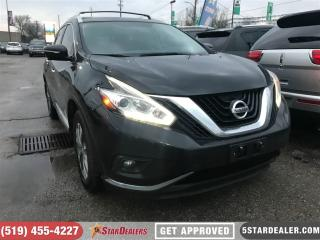 Used 2015 Nissan Murano SL | AWD | LEATHER | NAV | ROOF for sale in London, ON
