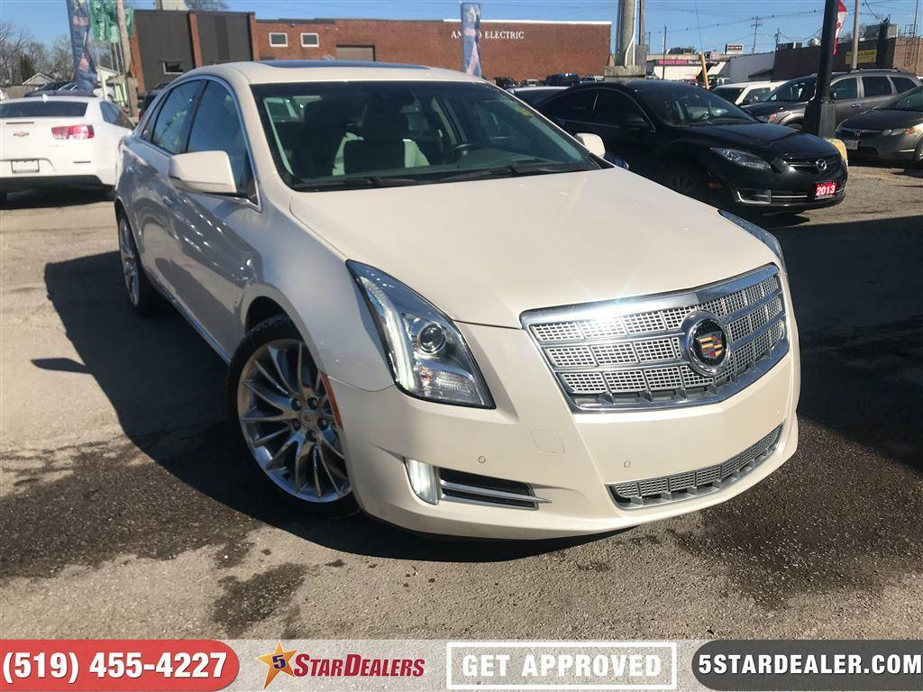 Used 2013 Cadillac Xts Platinum Awd Leather Roof Nav For