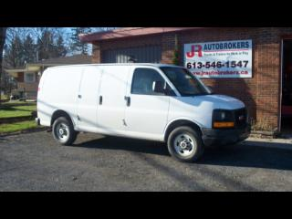 Used 2011 GMC Savana 2500 Cargo Van - Air, Cruise, CD and More! for sale in Elginburg, ON