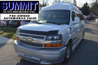 Used 2011 Chevrolet Express 3500 EXPLORER LIMITED, X-SE9 PASSENGER ,RAISED ROOF for sale in Richmond Hill, ON