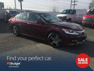 Used 2016 Honda Accord Sport Edition, Sunroof, Bluetooth Connectivity for sale in Vancouver, BC