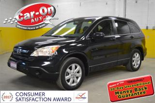 Used 2008 Honda CR-V EX-L AWD LEATHER SUNROOF for sale in Ottawa, ON