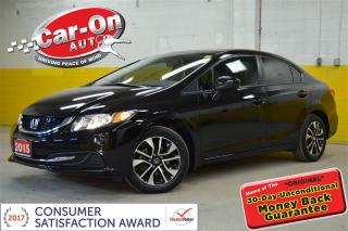 Used 2015 Honda Civic EX SUNROOF HTD SEATS B-UP CAMERA for sale in Ottawa, ON