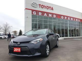 Used 2015 Toyota Corolla LE for sale in Pickering, ON