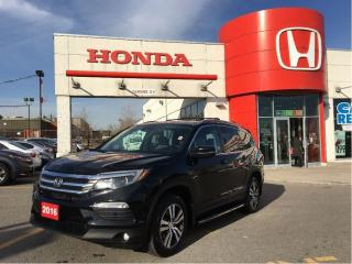 Used 2016 Honda Pilot EX-L, ORIGINAL ROADSPORT VEHICLE for sale in Scarborough, ON