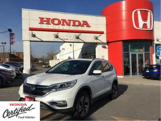 Used 2016 Honda CR-V Touring, like new, but less $$$$$ for sale in Scarborough, ON