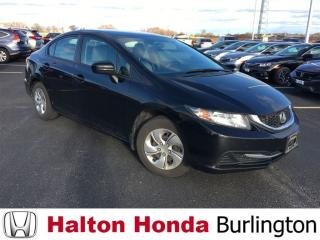 Used 2014 Honda Civic Sedan LX|ONE OWNER|ACCIDENT FREE for sale in Burlington, ON