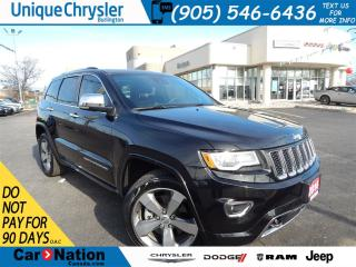 Used 2016 Jeep Grand Cherokee Overland|**DIESEL**|LEATHER|ROOF|NAV AND MORE! for sale in Burlington, ON