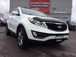 Used 2014 Kia Sportage SX | NAVI | PANO ROOF | LEATHER | AWD | for sale in Georgetown, ON