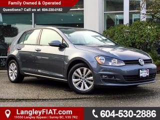 Used 2015 Volkswagen Golf 2.0 TDI Comfortline NO ACCIDENTS, B.C OWNED for sale in Surrey, BC