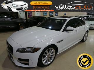 Used 2017 Jaguar XF 35T R-SPORT| NAVI| PANO RF| AWD for sale in Vaughan, ON