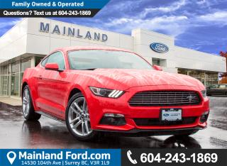 Used 2017 Ford Mustang EcoBoost Premium LOW KM, NO ACCIDENTS, LOCAL BC for sale in Surrey, BC