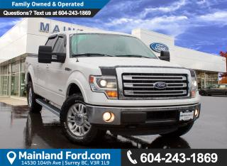 Used 2014 Ford F-150 Lariat NO ACCIDENTS, LOW KMS for sale in Surrey, BC