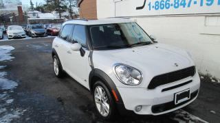 Used 2013 MINI Cooper Countryman Cooper S for sale in Kingston, ON