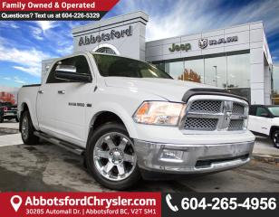 Used 2012 Dodge Ram 1500 Laramie *ACCIDENT FREE* *CONVENIENCE OPTIONS* for sale in Abbotsford, BC