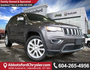 Used 2017 Jeep Grand Cherokee Limited *SINGLE OWNER* *ACCIDENT FREE* for sale in Abbotsford, BC