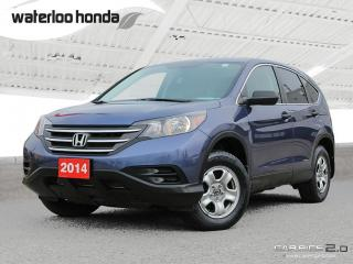 Used 2014 Honda CR-V LX Bluetooth, Back Up Camera, Heated Seats and more! for sale in Waterloo, ON